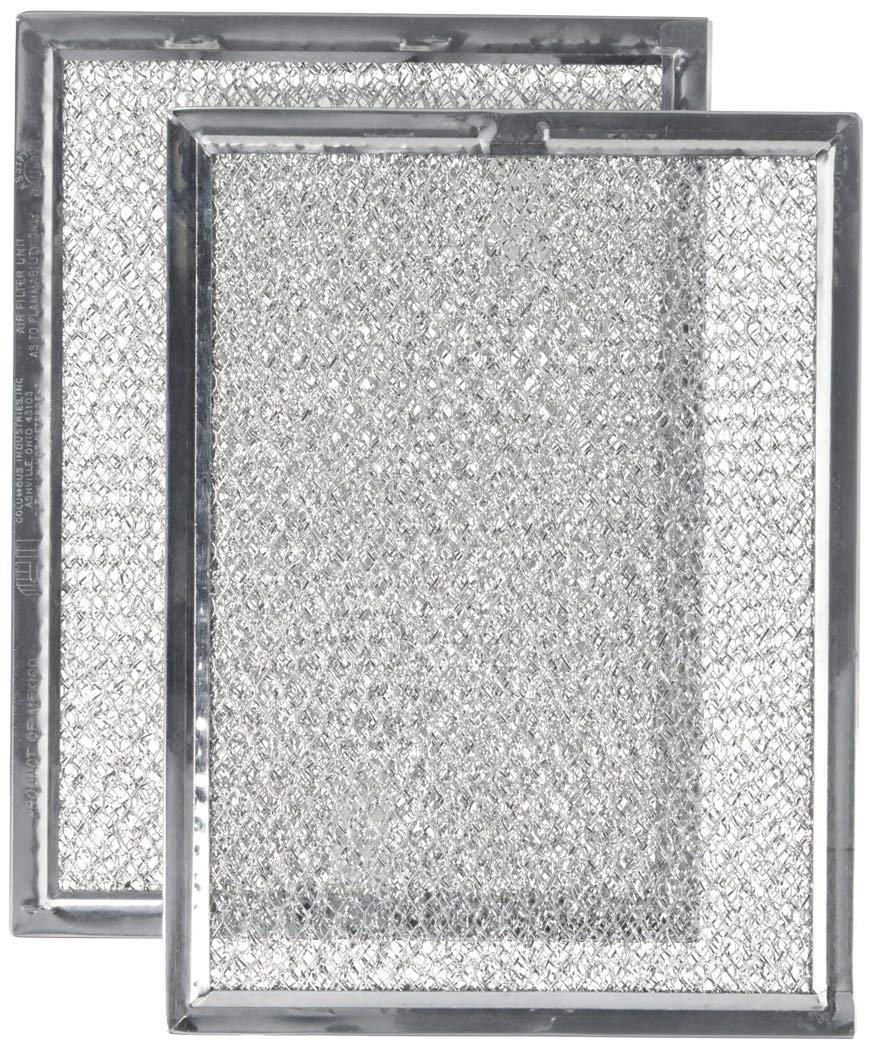 Nispira Replacement Microwave Oven Grease Filter Compatible With Frigidaire 5303319568, 2 Filters