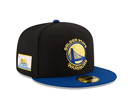 5e886611c6a2e ... coupon code new era golden state warriors 6x nba champions 59fifty  fitted hat black royal fa364