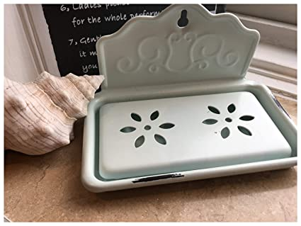 cb1a364f47 Image Unavailable. Image not available for. Colour: Shabby Chic Metal Wall  Mounted Soap Dish