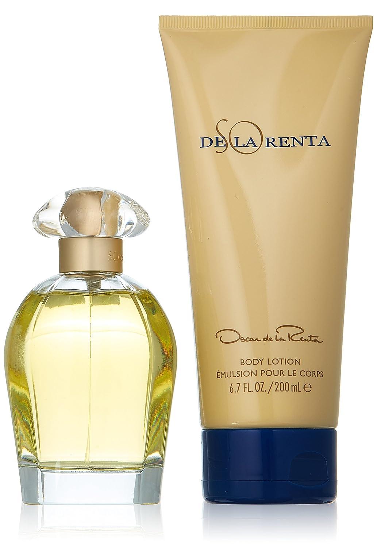 So de la Renta by Oscar de la Renta Eau de Toilette Spray 100ml & Body Lotion 200ml 0085715581440