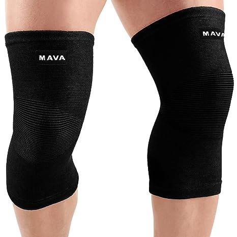 Amazon mava sports knee support sleeves pair joint pain mava sports knee support sleeves pair for joint pain arthritis relief improved solutioingenieria Choice Image