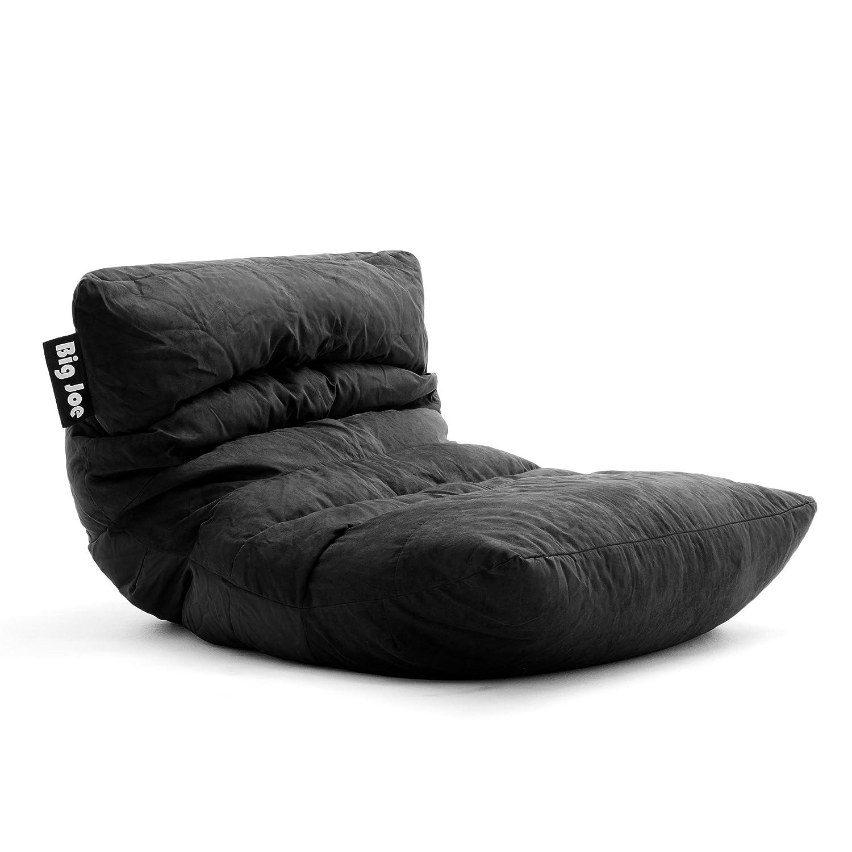 Big Joe Roma Bean Bag Chair, Black