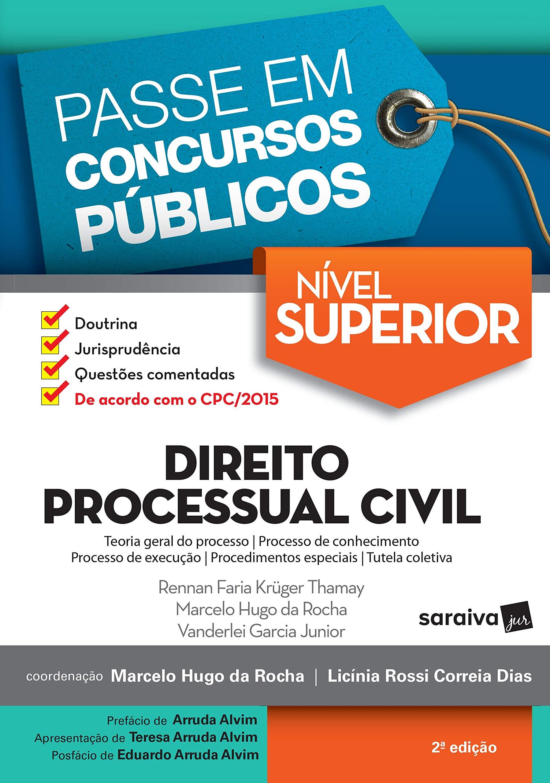 Direito Processual Civil 2ª Edição De 2017 9788547220594