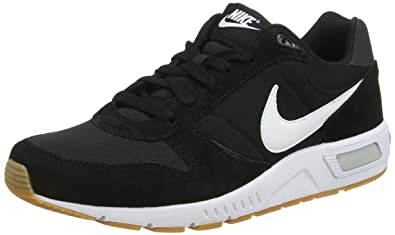 size 40 0d4c7 543c6 Nike Nike Nightgazer, Men s Running, Black (Black   White), 6 UK