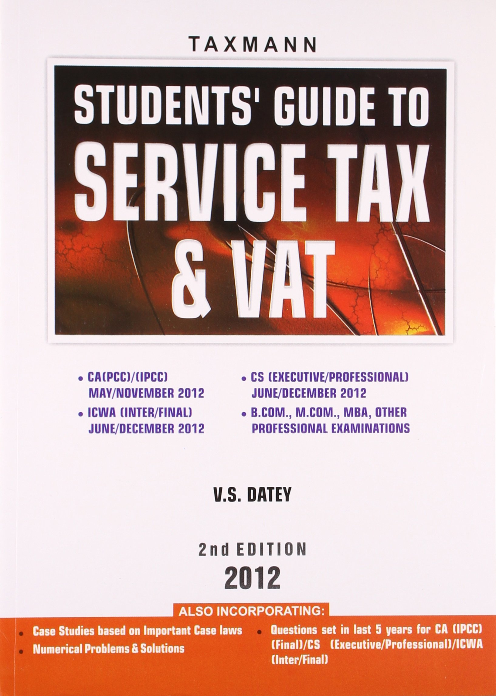 Buy Students' Guide to Service Tax & Vat Book Online at Low Prices in India  | Students' Guide to Service Tax & Vat Reviews & Ratings - Amazon.in