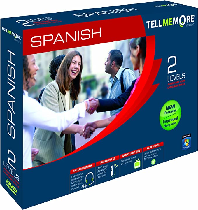This is an image of Spanish Placement Test Printable with intermediate