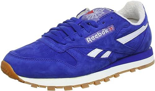 cead6ebed6c Reebok CL LTHR Vintage J97407 - Zapatillas de Deporte de Cuero para Hombre