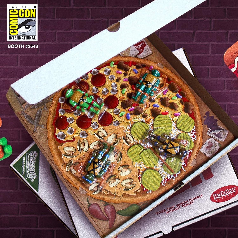 Amazon.com: SDCC 2019 Exclusive SUPER7 Reaction TMNT Pizza ...
