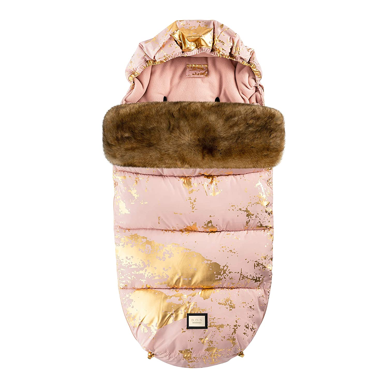 Bjällra Of Sweden 8069870 Der Perfekte Fussack Pink Golden Rosa 1200 G Baby