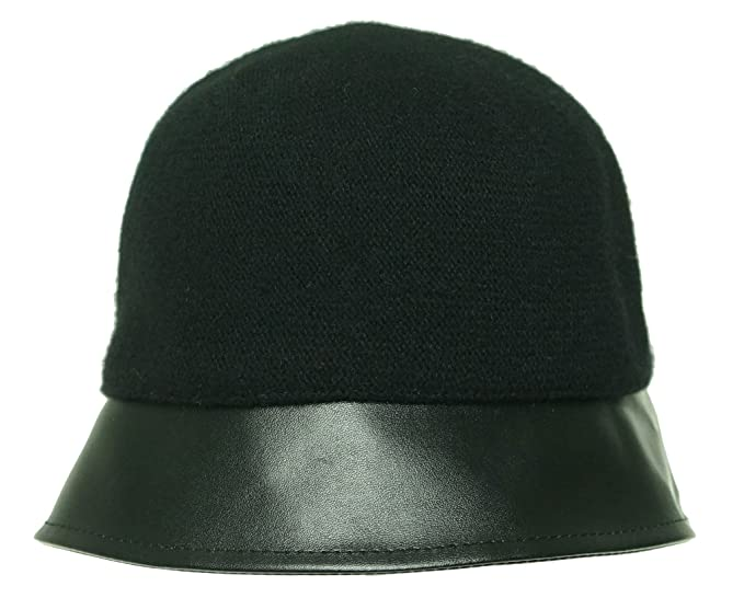 2bb9e29483b Image Unavailable. Image not available for. Color  August Accessories  Womens Hats Mixology Cloche Black O s