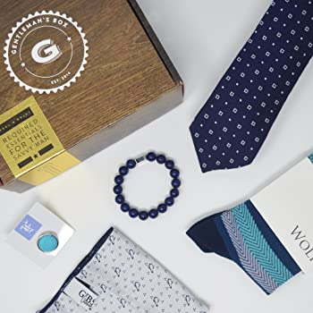 Gentleman's Box Men's Fashion and Lifestyle Accessories Subscription Box