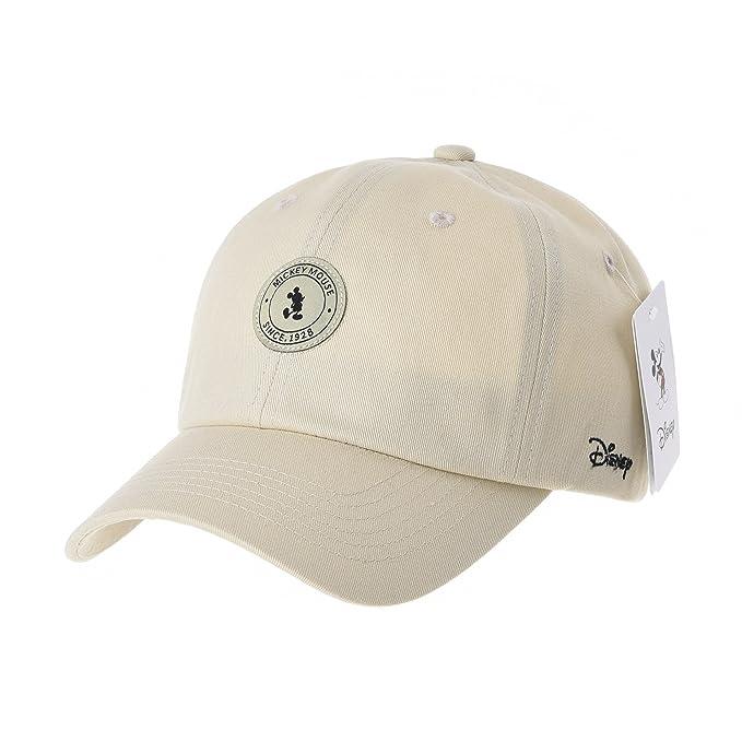 WITHMOONS Gorras de béisbol Gorra de Trucker Sombrero de Disney Mickey  Mouse Baseball Cap Rubber Patch 2757f49d568