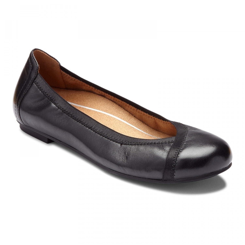 Vionic Womens Spark Caroll Ballet Flat B079331X6V 7 B(M) US|Black