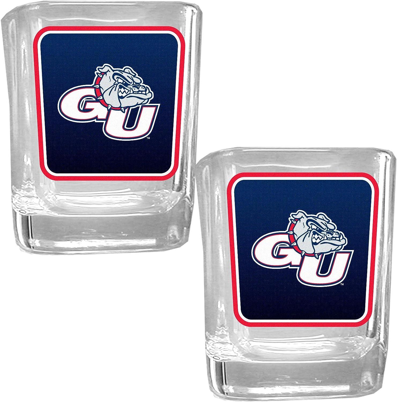 NCAA Gonzaga Bulldogs Square Glass Shot Glass Set