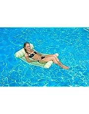 Poolmaster Pool Float 07433 Floating Water Hammock Lounge - Green