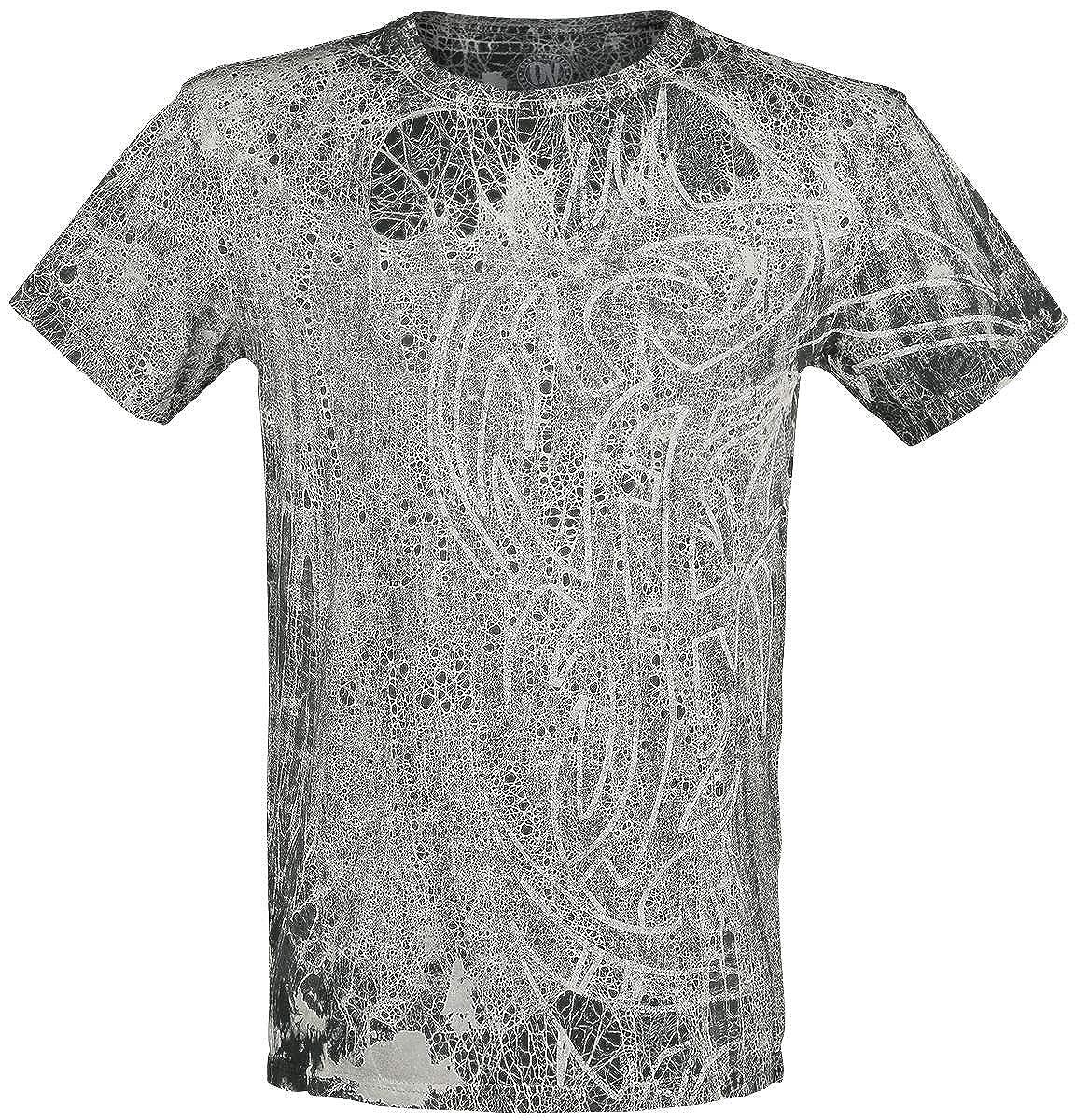 Outer Vision Ninja Tattoo Camiseta Negro XL: Amazon.es: Ropa ...