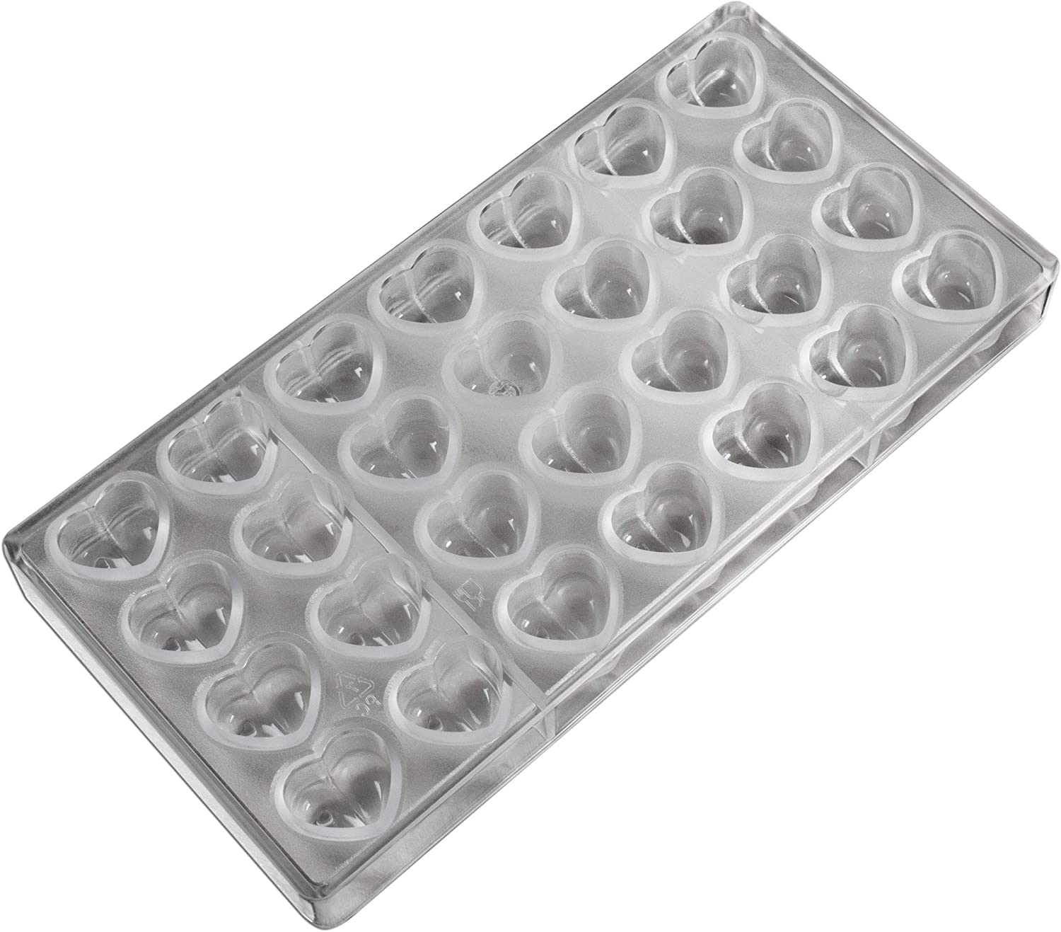 3 Cavities Fat Daddio/'s Polycarbonate Candy Mold Block of 15 Parts