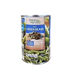 Happy Harvest Cut Fresh Picked Natural Canned Green Beans - 1 Can (15 oz)