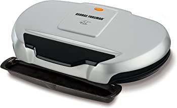 George Foreman GR144 9-Serving Classic Plate Electric Grill