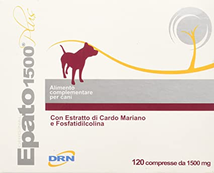 Amazon.com: Drn Hepato 1500 Plus 120 Tablets For Dogs: Health & Personal Care