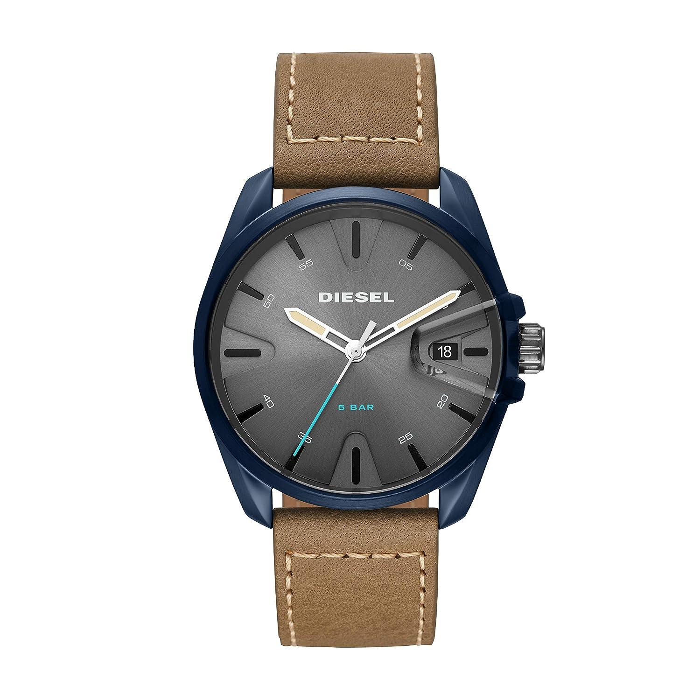 Diesel Reloj Analógico para Hombre de Cuarzo con Correa en Cuero DZ1867