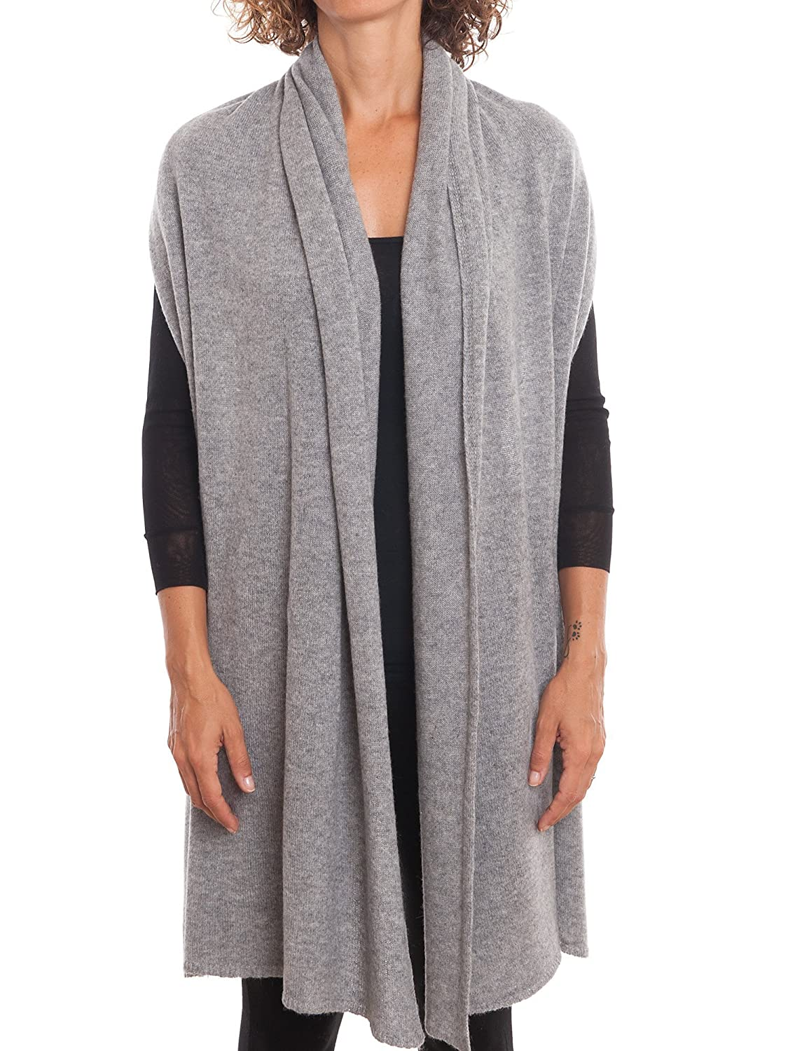 Stole 100/% cashmere Woman One size Color: Lilac Made in Italy Dalle Piane Cashmere