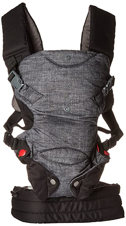 247c2b39294 Image Unavailable. Image not available for. Colour  Infantino Fusion  Flexible Position Baby Carrier ...