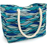 Kauai Beach Bag, Waterproof Canvas Beach Tote - Best Beach Bags For Women