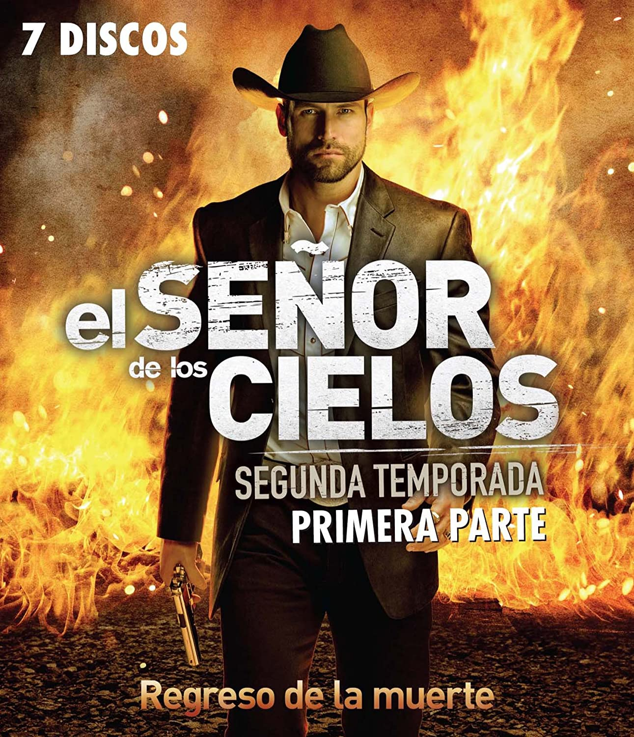 El Senor De Los Cielos Segunda Temporada Primera Parte Blu Ray Season 2 Part 1 Spanish Only No English Options Movies Tv