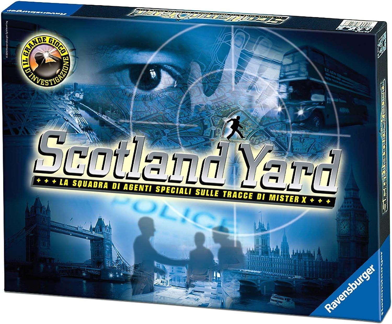 Ravensburger 26538 Scotland Yard - Juego de Mesa (Contenido en Italiano): Amazon.es: Juguetes y juegos