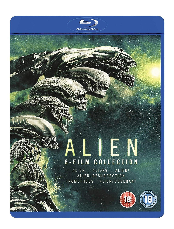Alien: 6-Film Collection [Blu-ray] [2017]: Amazon co uk: Sigourney