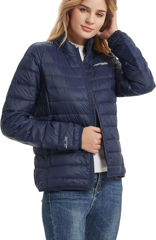 Freetrack Womens Lightweight Puffer Packable Down Jackets