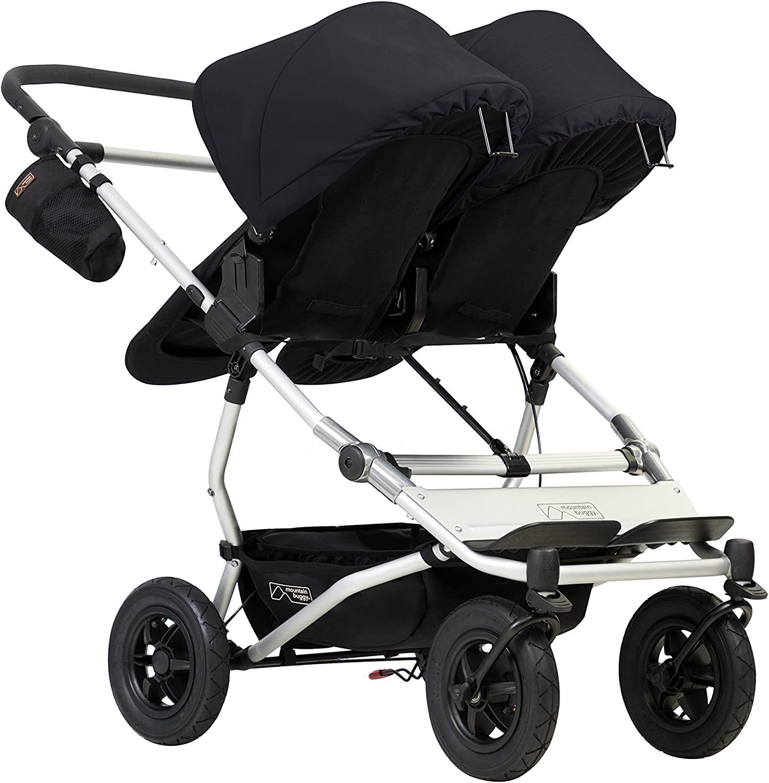 Mountain Buggy Duet v3 Double Stroller Black