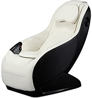 fully assembled curved long rail shiatsu massage chair wwireless bluetooth speaker and usb charger