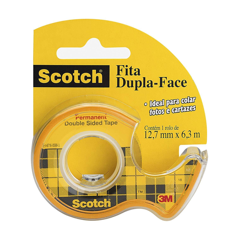 Amazon.com: Scotch cinta de doble cara con dispensador ...