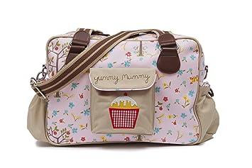 Yummy Mummy Pink Linning Changing Bag Diaper Bags