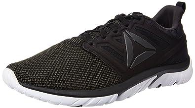 Reebok Men's Reebok Zstrike Run Se Coal, Black, White and Silver Running  Shoes -