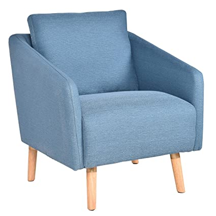 Amazon Com Giantex Accent Leisure Upholstered Arm Chair Single Sofa