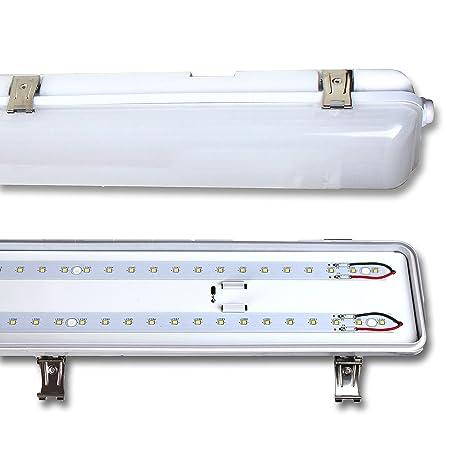 5ft - 72w - 1500mm LED Batten - 6400 Lumen Twin [High Output] (LED Twin  IP65 Luminaire)