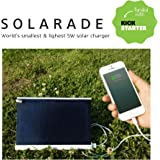 Solarade World's Smallest & lightest 5w 1000ma Portable Solar Charger for iPhone