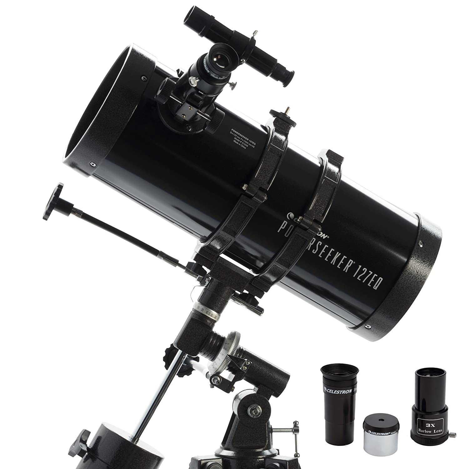 Celestron PowerSeeker 127EQ top rated telescope