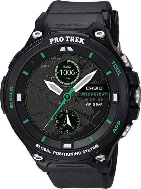 Casio Smart Watch WSD-F20X-BKAAU Protrek Smart Limited Edition Winter pack