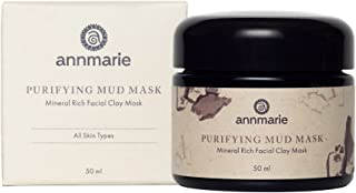 product image for Annmarie Skin Care Purifying Mud Mask - Facial Clay Mask with Rose Clay, Moroccan Rhassoul Clay + Chlorella (50 Milliliters, 1.7 Fluid Ounces)