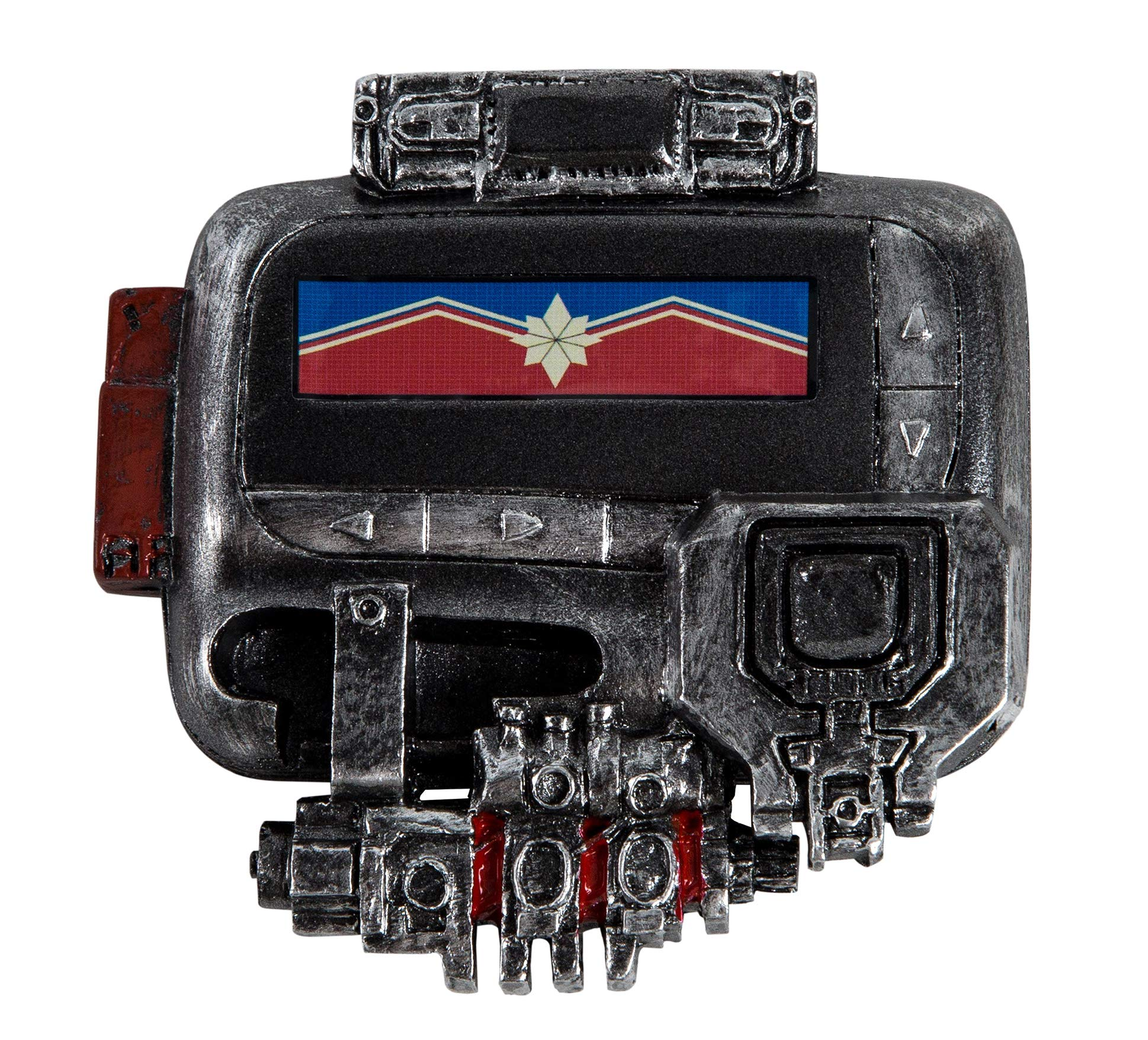 Nick Fury Pager,Captain Marvel Pager,Nick Fury Captain Marvel Cosplay Pager Beeper Props Silver