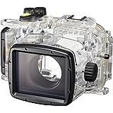 Canon WP-DC55 Custodia Subacquea, Nero/Trasparente