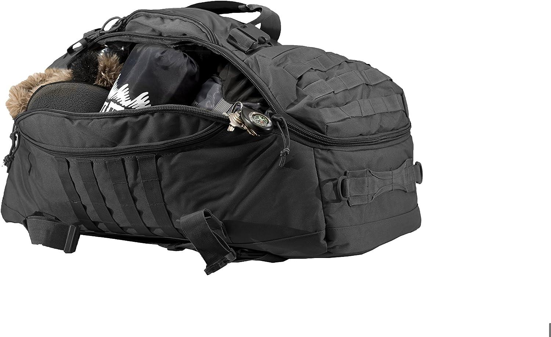45 L World Famous Sports TB-621-BLACK 45 L Tactical Duffel Bag Black