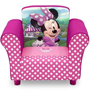 Incredible Delta Children Disney Minnie Mouse Upholstered Chair Machost Co Dining Chair Design Ideas Machostcouk