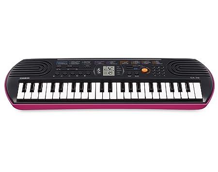 Casio SA-78 Mini Keys Keyboard - Pink-Best-Popular-Product