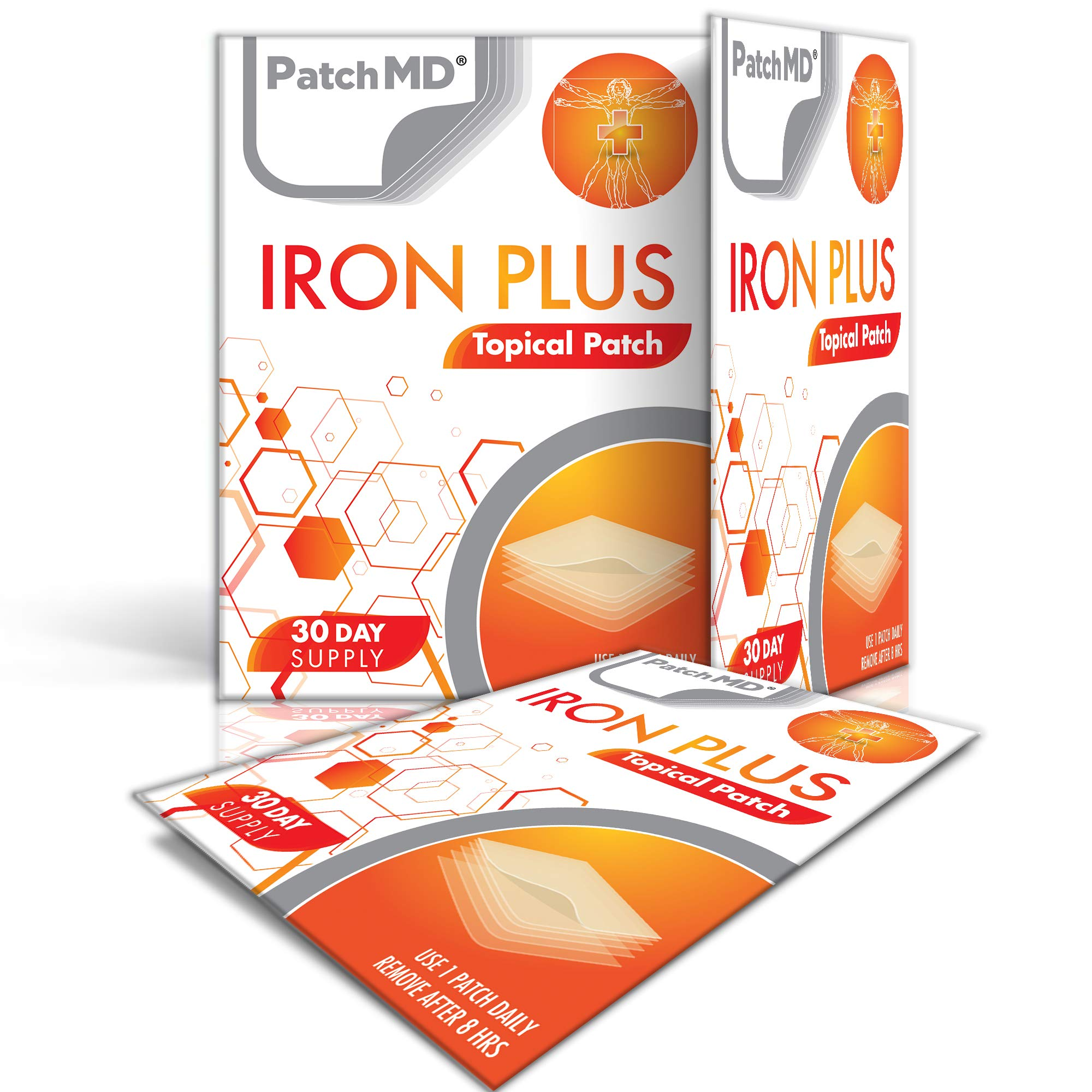 PatchMD - Iron Plus Topical Patch
