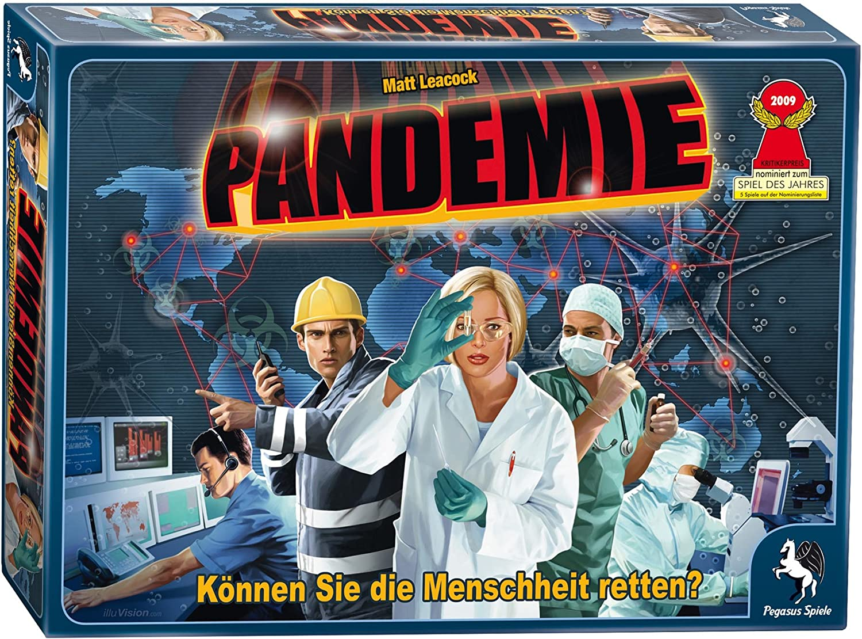 Pegasus Spiele 51325G Pandemie - Juego de mesa: Leacock, Matt: Amazon.es: Juguetes y juegos